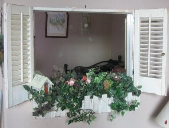 reuse of old shutters