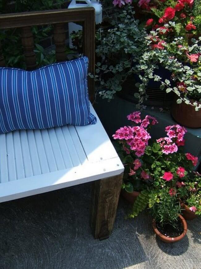 shutter bench
