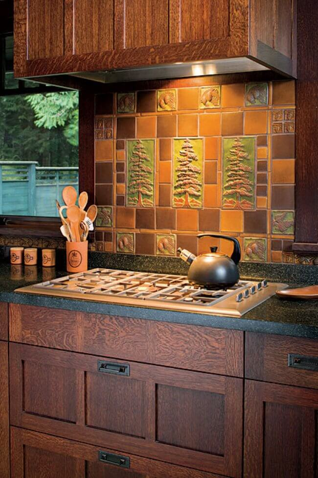 beadboard wallpaper kitchen backsplash
