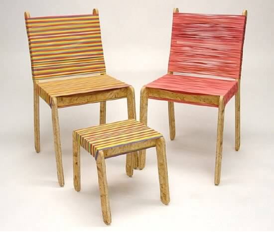 rubber band chairs