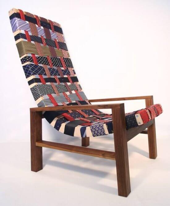 necktie chair