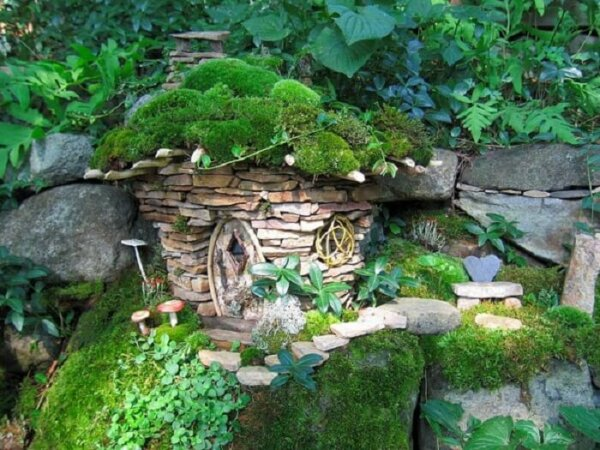 Fairy houses insteading for Garden hut sale