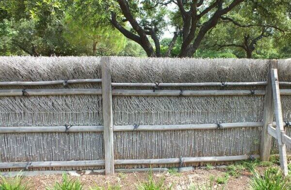 brush fence