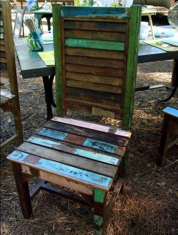 shutter chair