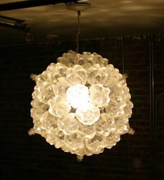 soda-bottle-chandelier
