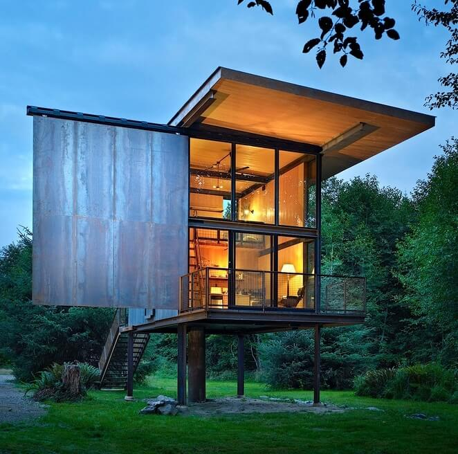 Well-known Homes on Stilts • Insteading HV54