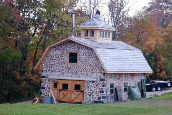 Superb Cordwood Construction Photo Gallery