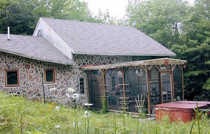 20) Cute Cordwood Home. Cordwood Construction Nice Look