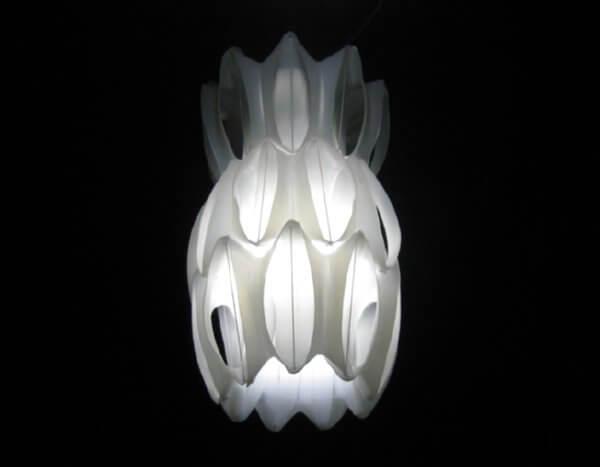 plastic bottle lamp