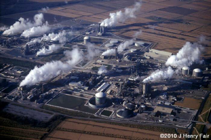 fertilizer plant pollution