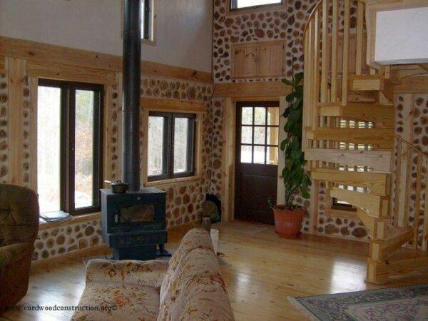 Cordwood Homes • Insteading