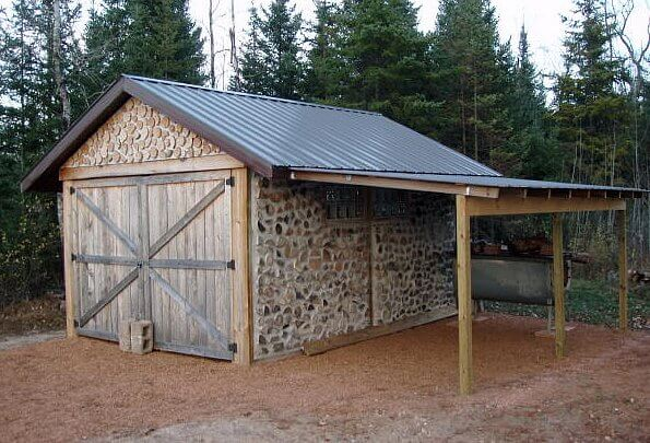 Cordwood construction insteading for Cordwood building plans