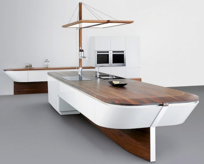 boat like kitchen