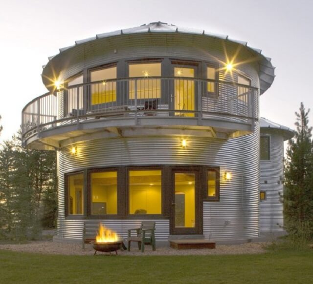 Silo Homes • Insteading