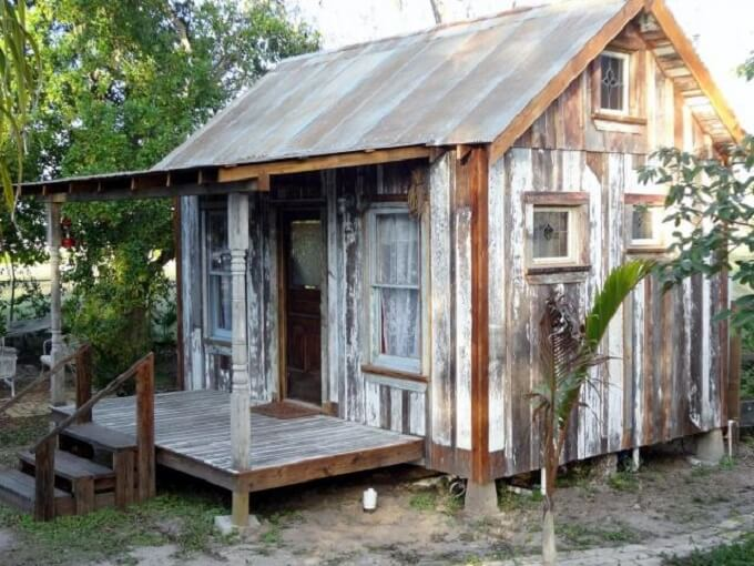 Salvaged wood sheds insteading for Cabin builder texas