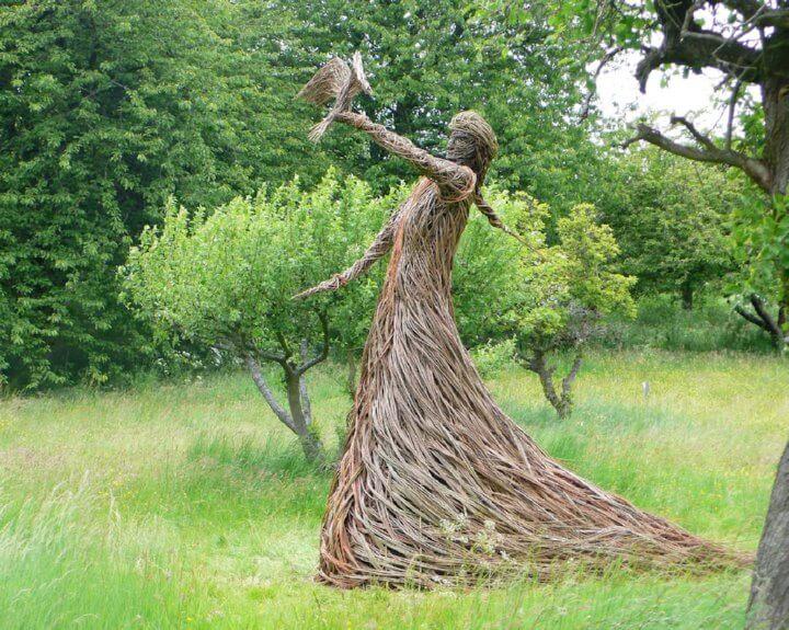 Willow Tree Sculptures Insteading